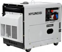 Дизельный генератор Hyundai DHY8000SE-3 -