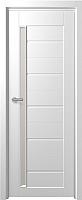 Дверь межкомнатная Юркас Fix F-4 60x200 (сатинато белое/белый) -