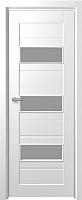 Дверь межкомнатная Юркас Fix F-5 60x200 (сатинато белое/белый) -