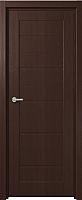 Дверь межкомнатная Юркас Fix F-1 60x200 (венге) -