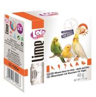 Кормовая добавка для животных Lolo Pets Минеральный камень с ракушками для птиц / LO 72056 (40г) -