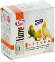 Кормовая добавка для животных Lolo Pets Минеральный камень натуральный для птиц / LO 72053 (35г) -