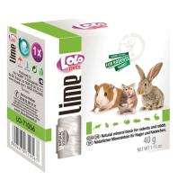 Кормовая добавка для животных Lolo Pets Минеральный камень натуральный для грызунов / LO 71056 (40г) -