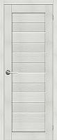 Дверь межкомнатная Юркас Stark ST1 80x200 (мателюкс/бьянко) -