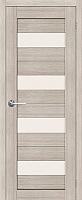 Дверь межкомнатная Юркас Stark ST2 70x200 (мателюкс/капучино) -