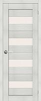 Дверь межкомнатная Юркас Stark ST2 80x200 (мателюкс/бьянко) -
