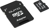 Карта памяти Qumo microSDXC (Сlass 10) 64GB (QM64GMICSDXC10U1) -