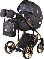 Детская универсальная коляска Adamex Luciano Gold Poler 2 в 1 (Y85) -