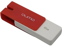 Usb flash накопитель Qumo Click 32GB (Crimson) -