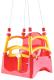 Качели Doloni 07550/4 (красный/желтый) -