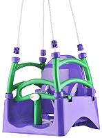 Качели Doloni 07550/5 (фиолетовый/салатовый) -