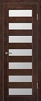 Дверь межкомнатная Юркас Vi-Lario ДО Премьер плюс 70x200 (венге) -