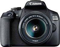 Зеркальный фотоаппарат Canon EOS 2000D Kit EF-S 18-55mm III / 2728C002AA -