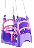 Качели Doloni 07550/2 (фиолетовый/розовый) -