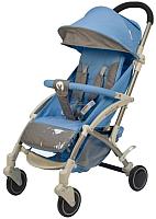 Детская прогулочная коляска Babyhit Allure (голубой/серый) -