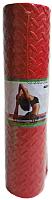 Коврик для йоги и фитнеса No Brand 60190 (красный) -