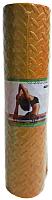 Коврик для йоги и фитнеса No Brand 60190 (оранжевый) -