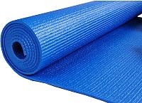 Коврик для йоги и фитнеса No Brand L173 (синий) -