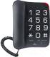 Проводной телефон Аттел 204 (черный) -