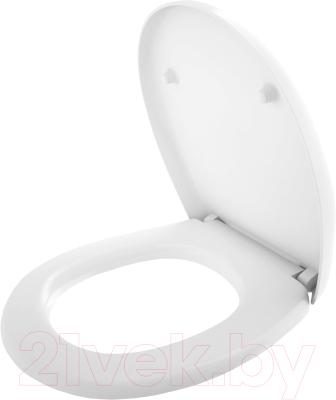 Сиденье для унитаза Керамин Верона (жесткое, с микролифтом)