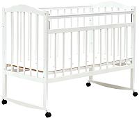 Детская кроватка Bambini М.01.10.09 (белый) -