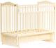 Детская кроватка Bambini М.01.10.11 (слоновая кость) -