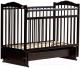 Детская кроватка Bambini М.01.10.11 (темный орех) -