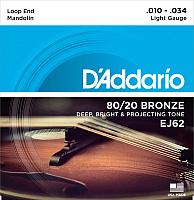 Струны для мандолины D'Addario EJ-62 -