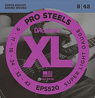 Струны для электрогитары D'Addario EPS-520 -