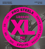 Струны для бас-гитары D'Addario EPS-170 -