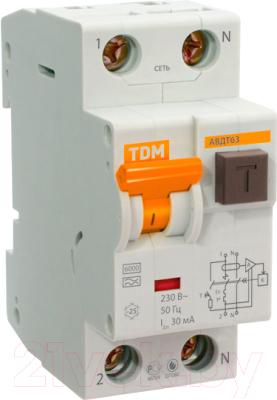 Дифференциальный автомат TDM SQ0202-0002