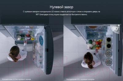 Холодильник с морозильником LG DoorCоoling+ GA-B509SVDZ
