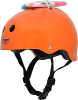 Защитный шлем Wipeout Neon Tangerine с фломастерами (M, оранжевый) -