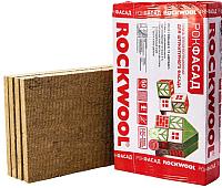 Плита теплоизоляционная Rockwool Рокфасад 1000x600x50 (упаковка) -