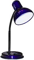 Настольная лампа Трансвит НТ 2077А E27 (ультрамарин перламутр) -