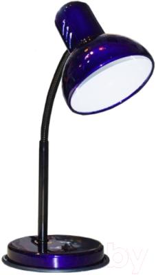Настольная лампа Трансвит НТ 2077А E27 (ультрамарин перламутр)