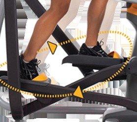 Эллиптический тренажер Matrix Fitness E5X (E5X'13/E5X-05-MB)
