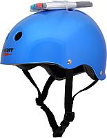 Защитный шлем Wipeout Blue Metallic с фломастерами (L, синий) -