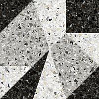 Декоративная плитка Керамин Терраццо 1Д (500x500) -