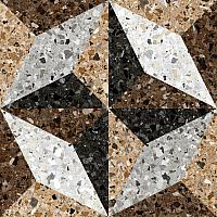 Декоративная плитка Керамин Терраццо 7Д (500x500) -