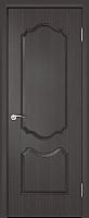 Дверь межкомнатная Юркас ПВХ Стандарт ПГ Орхидея 60x200 (венге) -