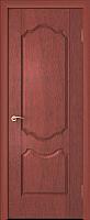 Дверь межкомнатная Юркас ПВХ Стандарт ПГ Орхидея 80x200 (итальянский орех) -