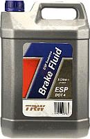 Тормозная жидкость TRW DOT 4 Brake Fluid / PFB445 (5л) -