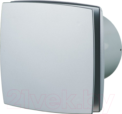 Вентилятор вытяжной Vents 100 ЛДА (матовый алюминий)