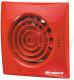 Вентилятор вытяжной Vents Квайт 100 (красный) -