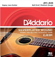 Струны для акустической гитары D'Addario EJ-83M -
