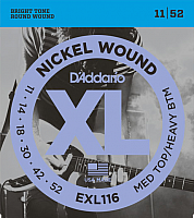 Струны для электрогитары D'Addario EXL-116 -