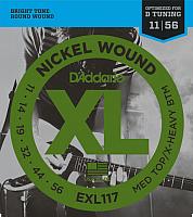 Струны для электрогитары D'Addario EXL-117 -