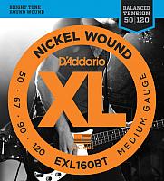 Струны для бас-гитары D'Addario EXL-160BT -