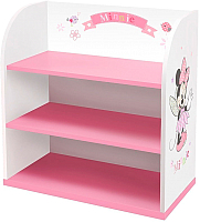 Стеллаж Polini Kids Disney baby 810 Минни Маус-Фея (белый/розовый) -